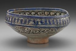Footed Bowl of Sultanabad Type
