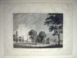 Davis' View of Yale College and State House
