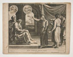 Joseph describes his dreams to the Pharoah
