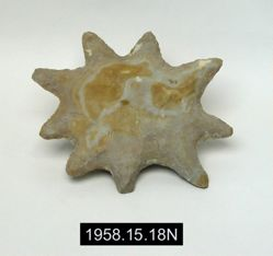 Nine-Pointed Star Eccentric Flint