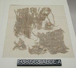 Textile, linen cloth fragment
