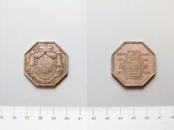 Silver Plaquette of Prince Antonine