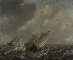 Vessels on a Choppy Sea