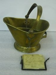 Patent model of a coal scuttle