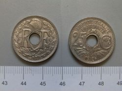 25 centimes of the Republic of France