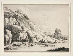Landscape with a Stone Bridge