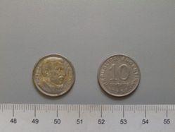 10 Centavos from Argentina