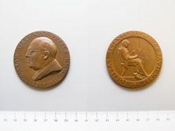 Bronze Medal of Waclaw Sierpinski