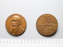 Bronze Medal of Alfred von Tirpitz