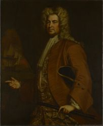 Commodore Edward Tyng (1683-1755) (formerly attributed to John Smibert)
