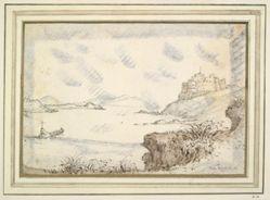 Castel Sant'Angelo in Imaginary Landscape