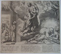 Plate 5, from the series, Life and Miracles of Saint Catherine of Siena