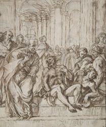 Saints Peter and Paul Healing the Lame Man