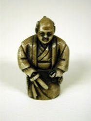Netsuke : Edo period policeman
