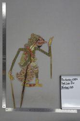 Shadow Puppet (Wayang Kulit) of Resi Duporo, from the set Kyai Drajat