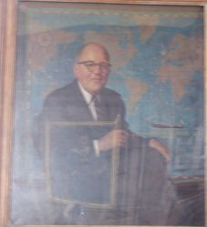 Daniel Merriman (b. 1908), Class of 1914 (Hon.), Ph.D. 1939