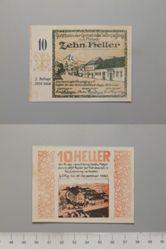 10 Heller from Wimpassing, Notgeld