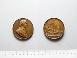 Bronze Medal from United States of John Paul Jones