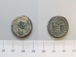 Antoninianus of Diocletian, Emperor of Rome from Antioch