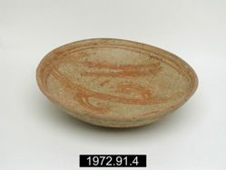 Plate with Geometric Designs