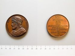 Bronze medal of Raoul Roi
