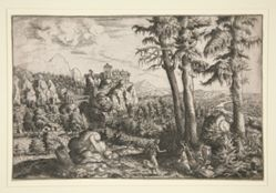 Landscape with Hagar and Angel