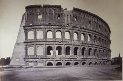 Untitled (Roman Colosseum exterior, partial)