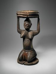 Kneeling Female Figure with Bowl