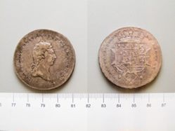 Coin from Tuscany under Louis I of Etruria