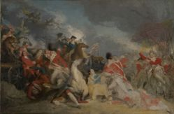 The Death of General Mercer at the Battle of Princeton, 3 January 1777 (unfinished version)
