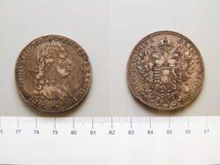 Francescone from Tuscany under Holy Roman Emperor Leopold II