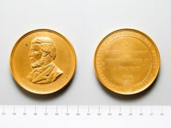 James Craig Watson Medal of the National Academy of Sciences of the United States, presented to Prof. Ernest William Brown