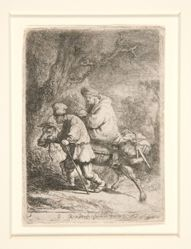 The Flight into Egypt: Small Plate