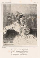 Le masque a beau mentir: Diogene femelle...