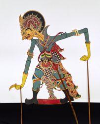 Shadow Puppet (Wayang Kulit) of Ratu Keling