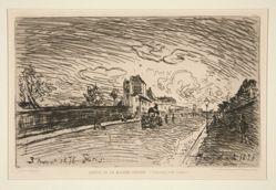 Sortie de la Maison Cochin (Faubourg Saint-Jacques) [Exit from the Cochin House (Faubourg Saint-Jacques)]