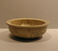 Basin with a Roulette Design