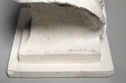 Plaster bust of Bela Lyon Pratt