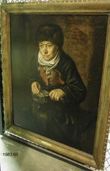 Old Woman with a Brazier