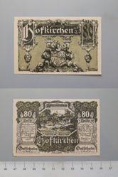 80 Heller from Hofkirchen, Notgeld