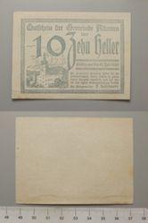 10 Heller from Alkoven, redeemable 31 July 1920, Notgeld