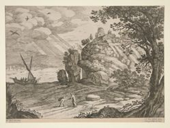 Italian landscapes; one of 30 plates
