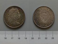 Halfcrown of George III, King of Great Britain from England