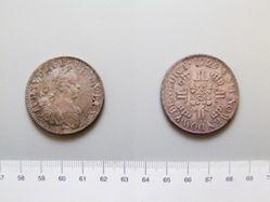 Silver half-Écu of Louis XV of France