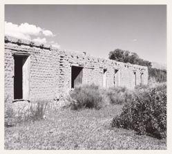 Part of an adobe house near San Pablo, Colorado