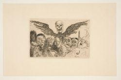 Les septs péchés capitaux dominés par la mort (The Seven Deadly Sins Dominated by Death), from the portfolio Les péchés capitaux (The Deadly Sins)
