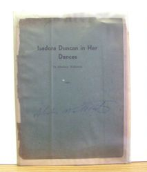 Isadora Duncan in Her Dances