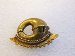 Hinged Crescent shaped Ear Ornament