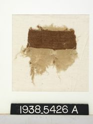Fragment with brown band