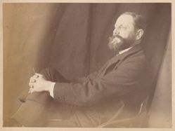 Portrait of Frederick B. Schell, from the album [Sydney, Australia]